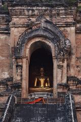 Wat Chedi Luang (Thomas Mülchi) Tags: chiangmai chiangmaiprovince thailand 2018 buddhism buddhisttemple temple buddha sunny changwatchiangmai th