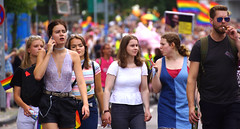 24. CSD Nordwest 11.000 participants / Gay Pride 2018 -  - Oldenburg population 165.000 (Lower Saxony / Germany) (tusuwe.groeber) Tags: germany lowersaxony oldenburg deutschland niedersachsen farbig farben colourful colours sony sonyphotographing nex7 bunt regenbogen rainbow gaypride csd nordwest northwest 2018 lesben schwule lesbian gays pride parade christopherstreetday transgender transsexuel streetshot lgbt glbt lsbttiq demo demonstration street strase