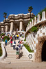 People Meander at Park Guell _4654 (hkoons) Tags: park guell gã¹ell unesco world heritage site western europe basque catalonia city european gaudi iberia mediterranean spain spanish amusement entertainment grounds naturalist outdoors tourists