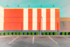 Stripes (llabe) Tags: minimal stripes fastfood architecture parkinglot lakewood washington nikon d750
