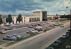 Caen Railway Station, France. c 1963 (stuartjames5) Tags: caen garecalvados railwaystation