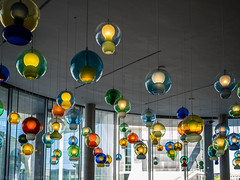 """I'm trying to do something radically different in a beautifully comfortable way"" (katrin glaesmann) Tags: berlin architecture art paullöbehaus plh guidedtour jorgepardo lamps restaurant"