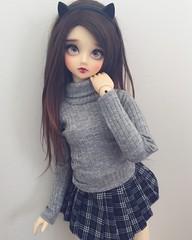New Outfit ^^ (ArcticFawn) Tags: bjd abjd doll sd sd13 girl super dollfie volks f05 fcs