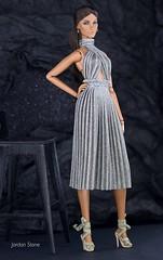 Elyse wearing dress by Jordan Stone (Jordan Stn) Tags: style collection collector elyse fashionphotography dolls fashiondoll fashionroyalty integritytoys