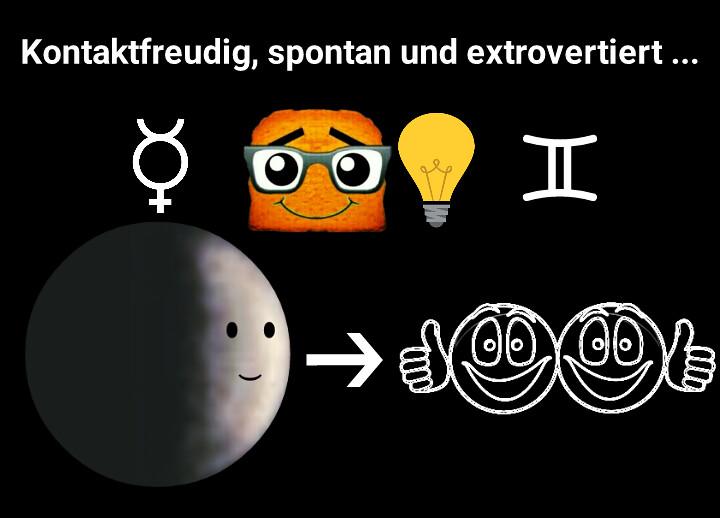 Merkur betritt Zwillinge