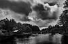 Solitude (Niki Bitsch Børstrøm Hansen) Tags: solitude water sky threes tree cloud clouds sweden bridge stone wood roof hut