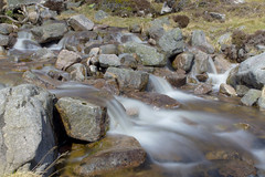 Rocky Cascades (steve_whitmarsh) Tags: aberdeenshire scotland scottishhighlands water stream waterfall rocks