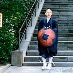 Buddhist monk of Zen sect, At Engakuji, Kamakura : 禅宗の僧侶(北鎌倉・円覚寺) thumbnail