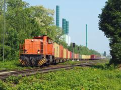 BUVL 275 870 (jvr440) Tags: trein train spoorwegen railroad railways duisburg wanheim mak g1206 bv leipzig