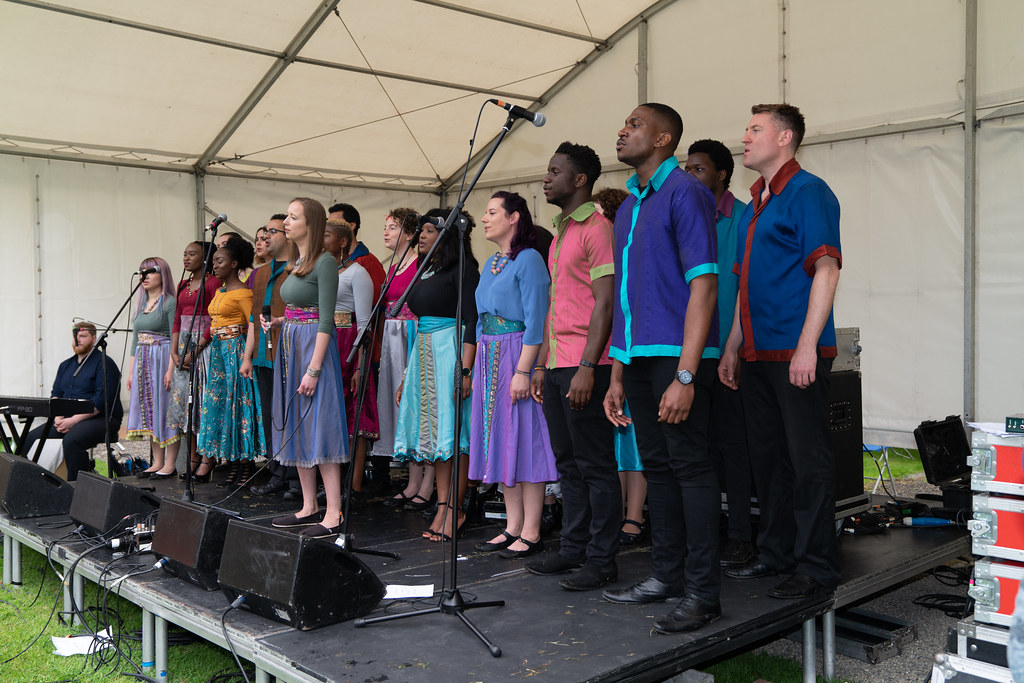 DISCOVERY GOSPEL CHOIR [AFRICA DAY 2018 IN DUBLIN]-140581