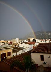 Doble arcoiris. (daniellidl) Tags: rainbow arcoiris arcoirisdoble colores