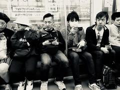 differences. (framingthestreets) Tags: streetphotography japan kamakura kamakurabeach shinjuku shibuya blackandwhite daidomoriyama streetart nightlife moment moments reality reallife hardlife iphone iphonex photo