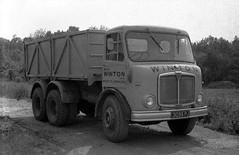 AEC Marshal, 3095 PJ (ergomammoth) Tags: lorry lorries truck trucks hgv commercialvehicle aec aecmarshal tipper parkroyalvehicles avu470 aecltdsouthall rigidsixwheeler williamrwintonltd ripley surrey roadtransport