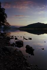 Loch Venechar (jasonconnelly) Tags: loch scotland venechar sunset film landscape kodak portra nikon f100 sky lakes