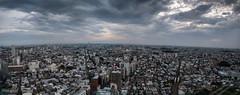 #159 Tokyo sprawl (tokyobogue) Tags: tokyo japan sangenjaya 365project nexus6p nexus panorama city cityscape urban sprawl sky clouds