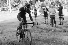 000131360034 (Harry Toumbos Photo) Tags: 35mm film ilford hp5 canon fd a1 f1 50mmf12l 35105mmf35 cycling cyclocross adelaide nationals
