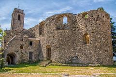 Bajardo Old Church Outside (Tony Howsham) Tags: canon eos70d sigma 18250 italian church bajardo liguria italy ruin ruins disaster earthquake