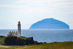 Turnberry Lighthouse (Dougie Edmond) Tags: maidens scotland unitedkingdom gb turnberry trump donald golf course lighthouse ailsa craig
