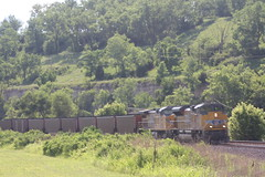 57363 (richiekennedy56) Tags: unionpacific sd70ace ac44cw up8858 up6840 kansas wyandottecountyks bonnersprings sunflower railphotos unitedstates usa