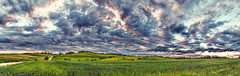 IMG_8678-82Ptzl2TBbLGERk (ultravivid imaging) Tags: ultravividimaging ultra vivid imaging ultravivid colorful canon canon5dm2 clouds sunsetclouds fields farm landscape lateafternoon sky evening twilight rural road rainyday scenic spring pa pennsylvania panoramic vista painterly