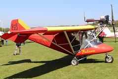 G-CCZJ (GH@BHD) Tags: gcczj rajhamsa xair xairfalcon pophammicrolighttradefair2018 pophamairfield popham microlight aircraft aviation