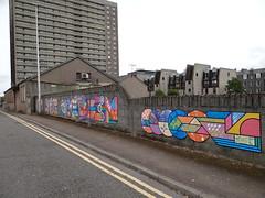 Aberdeen Mural (Ian Robin Jackson) Tags: city aberdeen lookagainfestivalaberdeen sony zeiss street scotland scottishstreets mural aberdeenshire