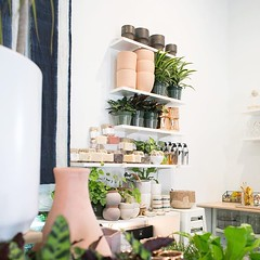 In our new 208 S. Wilmington Street Downtown Raleigh Storefront we'll be adding in some of our favorite small batch beauty essentials to go along with our growing list of candles & gift-able home favorites . All plant based & all good. (The ZEN Succulent) Tags: the zen succulent terrarium instagram