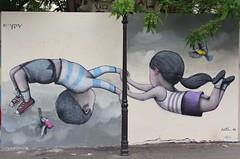 Seth_8460 rue de la Butte aux Cailles Paris 13 (meuh1246) Tags: streetart paris seth ruedelabutteauxcailles butteauxcailles paris13 lézartsdelabièvre2018 enfant