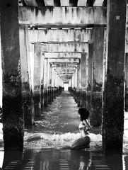 Samantha (ShelSerkin) Tags: shotoniphonex shotoniphone hipstamatic iphone iphoneography squareformat mobilephotography streetphotography candid portrait street nyc newyorkcity gothamist blackandwhite coneyisland beach swimmer