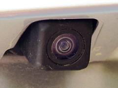 Tiny Hidden Backup Camera on Toyota Car (Joseph Hollick) Tags: transportation macromondays camera backupcamera car toyota suv rav4