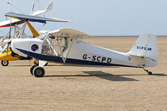 G-SCPD (QSY on-route) Tags: gscpd lancashire landing 2018 fly in knott end beach airfield 09062018