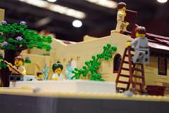 Viking Attack (The Brickstons Group) Tags: lego viking attack vikings diorama