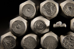 Vantage point... (Altazur) Tags: macromondays handtool 7dwf macro abstract metal screwdriver hexagon