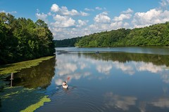 Tribble Mill Park - Gwinnett, Georgia (Jon Ariel) Tags: kayak park reflection lake water summer gwinnett gwinnettcounty georgia ga atlanta