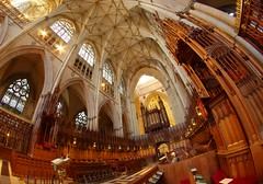 Choir (sfryers) Tags: yorkminster stpeters cathedral historic gothic architecture arches york yorkshire falcon samyang 8mm 135 fisheye