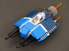 "Spacefaring Hypersonic Prototype ""Space Breaker"" (Tammo S.) Tags: lego moc scfi starfighter space spaceship"