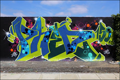 Phed by Merc (Alex Ellison) Tags: phed phed150 rip tribute plaistow halloffame eastlondon urban graffiti graff boobs merc kms