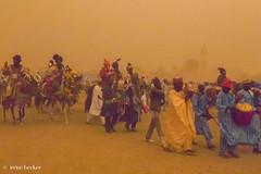 Dust Storm Riders (Irene Becker) Tags: africa durbar imagesofnigeria kano nigeria nigerianimages nigerianphotos northnigeria westafrica northernnigeria sandstorm