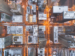 MICROSTRUCTURE (Nenad Spasojevic) Tags: sunrise 2018 aerialphotography citylights buildings microstructure chi winter nenadspasojevic dji city aerial fun snow exploration architecture perspective morning chicago droning drone illinois il usa