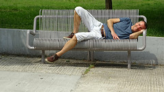 Bratislava '18 (faun070) Tags: bratislava bench libertysquarebratislava jhk dutchguy tourist