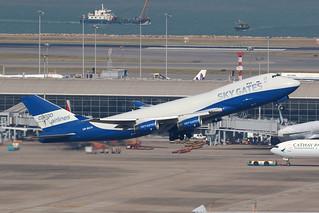 VP-BCH Sky Gates Airlines, 747-400F, Hong Kong