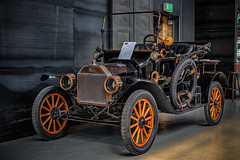 """FORD MODEL T """"RUNABOUT"""" (Peter's HDR hobby pictures) Tags: petershdrstudio hdr ford classiccar convertible oldtimer car auto cabriolet rad holzspeichenrad schwarz black"""