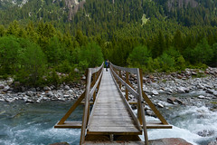 Rein da Sumvitg (balu51) Tags: wanderung landschaft fluss wasser ufer brücke wald tannen grün hiking landscape mountains river water stone forest tree bridge green switzerland grisons graubünden valsumvitg reindasumvitg mai 2018 copyrightbybalu51
