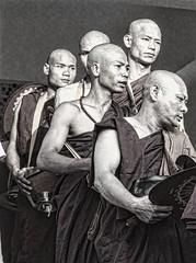 monks (alebrigante) Tags: monk thai ritual celebration travel mystic rare man