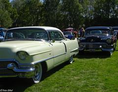 1956 Cadillac Hardtop Coupé & Cadillac Fleedwood 60 Special (peterolthof) Tags: peterolthof klazienaveen oldtimerdag 652018 am8209 dz0885