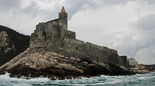 castle on point, Porto Venere