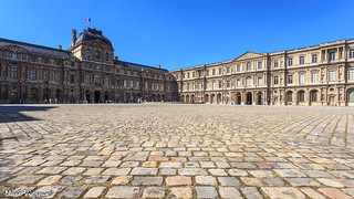 Jardin des Tuileries et Louvre