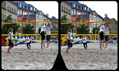 City-Beachball 3-D / CrossEye / Stereoscopy (Stereotron) Tags: saxony sachsen vogtland reichenbach markt beachball volleyball europe germany deutschland crosseye crossview xview pair freeview sidebyside sbs kreuzblick 3d 3dphoto 3dstereo 3rddimension spatial stereo stereo3d stereophoto stereophotography stereoscopic stereoscopy stereotron threedimensional stereoview stereophotomaker stereophotograph 3dpicture 3dimage twin casio exilim wernerbloos digidat sports