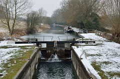 2018 03 03 024 KA Kintbury walk, snow (Mark Baker.) Tags: 2018 avon baker berkshire dreweatts eu europe kennet kennetandavon lock march mark britain british canal cold day england english european gb great kingdom outdoor photo photograph picsmark rural snow spring uk union united