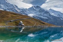 Fallboden - Jungfrau (Hans van Bockel) Tags: hansvanbockel d7200 nikon sigriswil zwitserland ch kleinescheidegg fallboden see jungfraubahn jungfrau silberhorn museum berg bergen alps alpen jungfrauregion bergbeklimmers